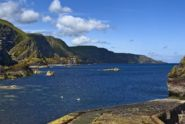 Scottish holiday cottages by the sea